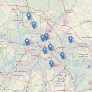 Bild Karte Ferienangebote Berlin
